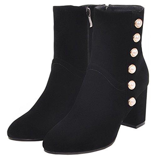 Classic AIYOUMEI Boot Boot Black Women's AIYOUMEI Women's Classic qXYt7w