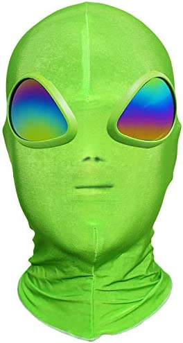 Poptrend Halloween Mask Alien Mask for Festival Cosplay Halloween Masquerade PartiesCarnival ET makeup banquet Gifts
