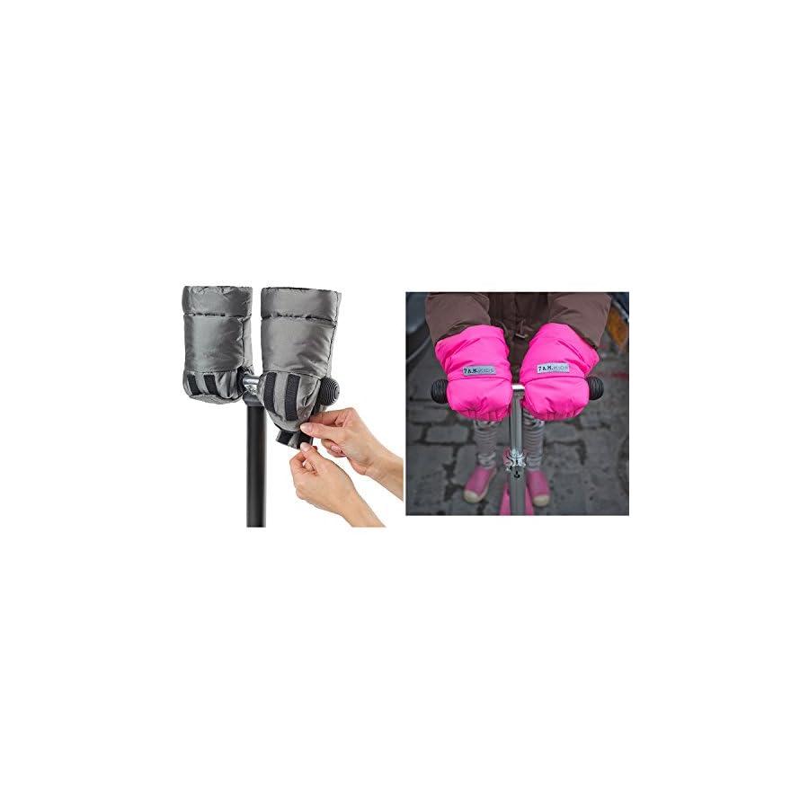 7AM Enfant Kids Warnnufs, Grape/Neon Pink, Small