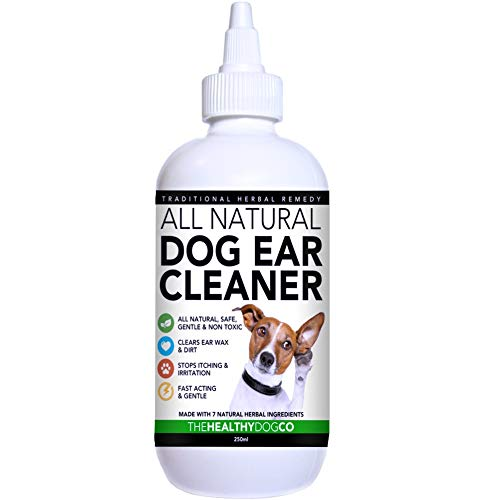 All Natural Dog Ear Cleaner | 250ml | Stop Your Dogs Suffering in 2-3 Days...