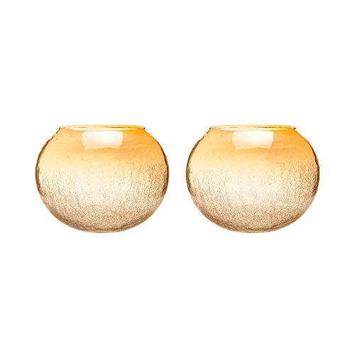 ELK Lighting Brandy Round Hurricane Candle Holder - Set of 2