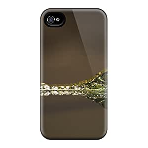 Iphone 4/4s Cover Case - Eco-friendly Packaging(baby Aligator)