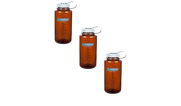 Nalgene Everyday Triton Amplia Boca 32 oz Botella (rústico Naranja) – 3 Unidades: Amazon.es: Deportes y aire libre