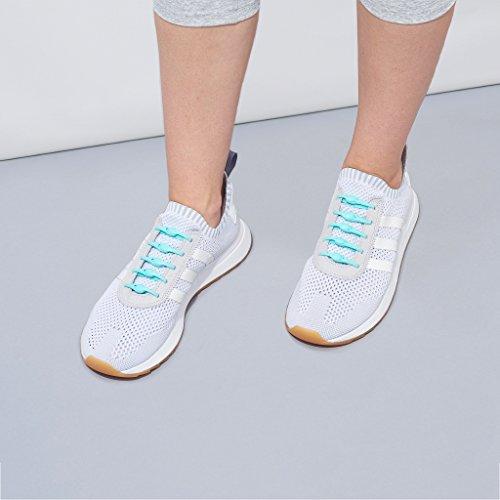 HICKIES 1.0 Originals elastische Schnürsenkel, unisex, Einheitsgröße, kein Schuhe binden, für alle Schuhe geeignet Minze