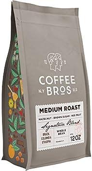 Coffee Bros. Medium Roast Whole Bean Arabica Coffee Beans