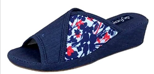 Bleu pour fonseca Bleu EU Femme Chaussons 41 de qIEfZ