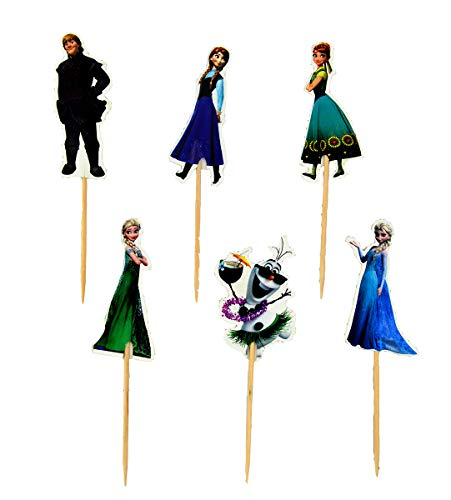 Frozen Cupcake Toppers Party Pack for 24 -