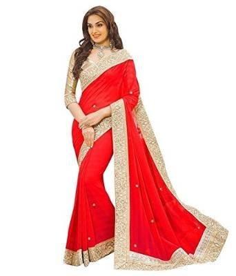 Red Saree - 1