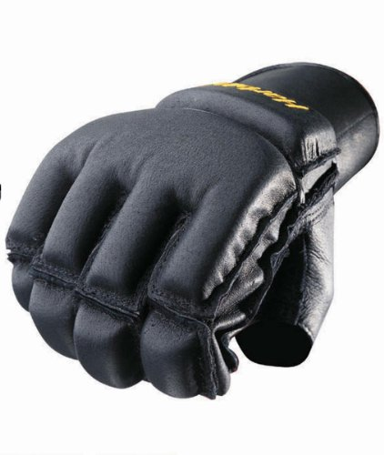 Harbinger Men's WristWrap Bag Glove with Cushioned Palm, Sma
