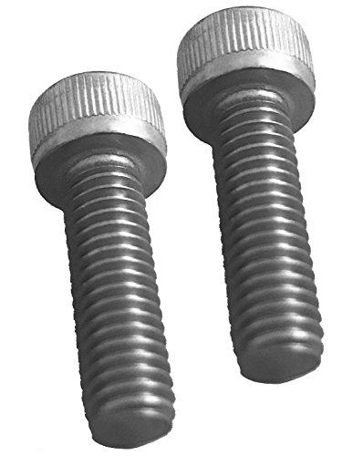 - Pair of Replacement Screws for Fuel Wheels Black Center Cap Cap 1001-63-B