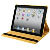 Natico Faux Leather 360-Degree Rotating Case for iPad mini, Yellow (60-IM360-YW)
