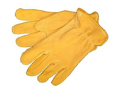 Split Deerskin, Rough Out Glove (xl)