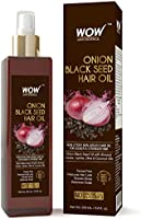 WOW Onion Black Seed Hair Oil Promotes Hair Growth Contro