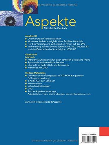 Aspekte: Lehrbuch 2 Ohne DVD (German Edition): 9783126060097: Amazon ...