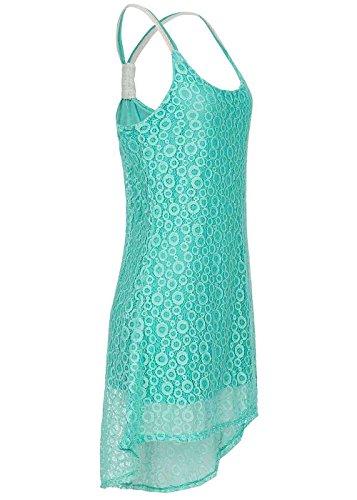 violet Fashion - Vestido - cuello hálter - para mujer Mint Grün