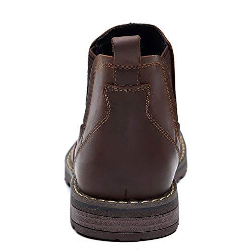Chelsea Brown Martin Zapatos Cuero E Boda Altos Otoño Clásico Hombre Hombres Botas Brogue De Desierto Invierno HqrHS