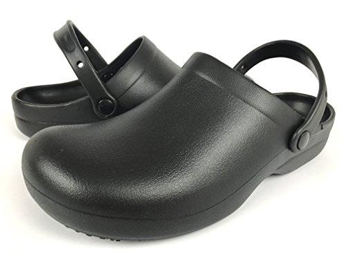 Meada Travail Étain Nam 100 & 1 Chaussure Antidérapante Sabot Noir101