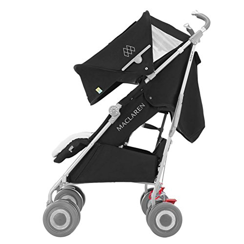 Maclaren Techno XLR Stroller, Black/Silver by Maclaren (Image #6)