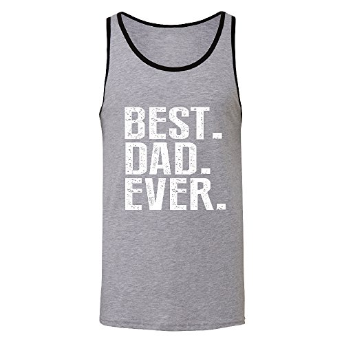 Best Dad EVER Men's Tank Top Father's Day Gift Shirts Athletic Heather / Black X-Large for $<!--$13.49-->