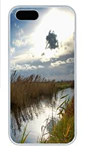 Air Jordan Clouds Landscapes Nature sky Custom iPhone 5s/5 Case Cover Polycarbonate White