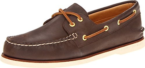 - Sperry Men's Gold Cup Authentic Original 2-Eye Boat Shoe, Brown, 9 W US
