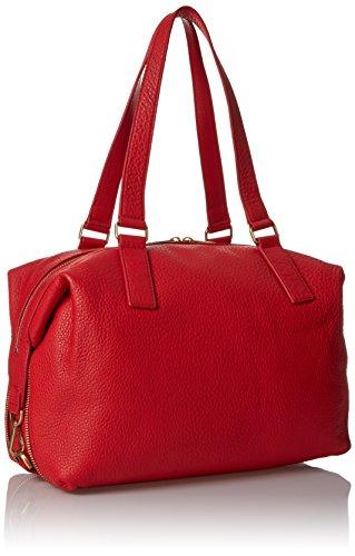 73e61da6f Fossil Preston Satchel Bag, Real Red, One Size: Amazon.ca: Clothing &  Accessories