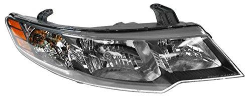 Headlight Headlamp Passenger Side Right Hand RH for 10-12 Kia Forte Sedan - Headlamp Headlight Rh