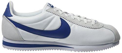 102 Blue Cortez Gym Homme Gris de Nike White Nylon Classic Running Chaussures B11vwPxq