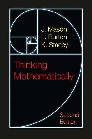 thinking mathematically mason burton stacey pdf