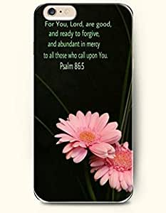 iPhone 6 Case,OOFIT iPhone 6 (4.7) Hard Case **NEW** Case with the Design of you lord are good and ready to forgive and abundant in mercy to all those who call upon you psalm 86:5 - Case for Apple iPhone iPhone 6 (4.7) (2014) Verizon, AT&T Sprint, T-mobile