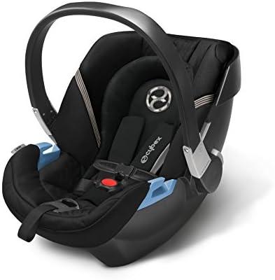 CYBEX Aton 2 Infant Car Seat Black Beauty