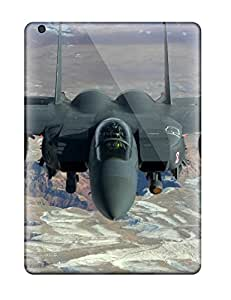 Top Quality Rugged Jet Fighter Military Man Made Military Case Cover For Ipad Air