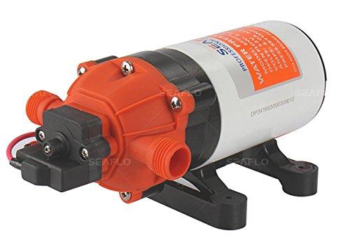 - SEAFLO 12V 1.6 GPM 100 PSI 34-Series Water Pressure Diaphragm Pump