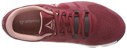 2 Maroon Rouge 0 Chaussures Femme Reebok Fitness Urban de Chalk Chalk Noir Coal Blanc Trainflex 000 Pink 4wpxTqUP5