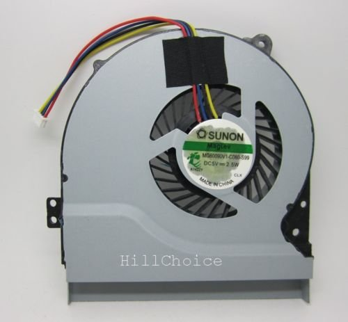 wangpeng New CPU Cooling Fan Compatible with for Asus K56 K56CA K56CB K56CM K46 K46CM K46SL Laptop MF75070V1-C090-S9A