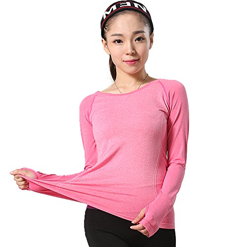 LWJ 1982 Women's Long Sleeve Tops Athletic Gym Workout Yoga Clothes Moisture Wicking Shirts For Women – DiZiSports Store