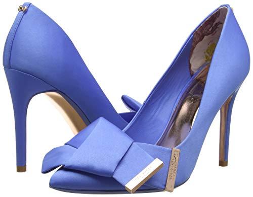 Femme Baker Ble Ted Bleu blue Bout Fermé Ines Escarpins dU7fqXw