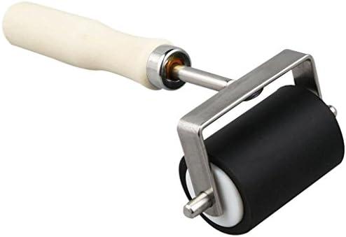 5Cmローラー硬質ゴム耐性印刷リネンブレイヤーアートクラフトツール