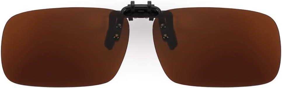 Cyxus-Occhiali de Sol con polarizadas y Clip sobre prescrizione Gafas Anti-Glare [] [] Protector UV para guía Eyewears/Pesca