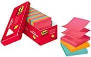 Post-it Pop-up Notes, 3x3 in, 18 Pads, America's #1 Favorite Sticky Notes, Cape Town Collection, Bright Co