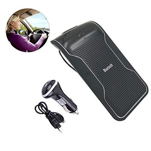 Bluetooth Car Sun Visor,MASO Car Bluetooth Handsfree Speakerphone KitMP...