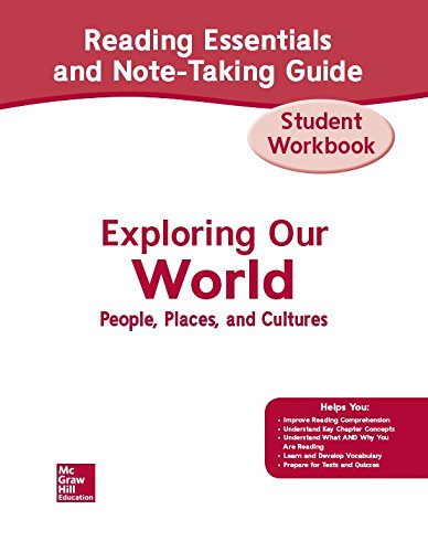 Exploring Our World, Western Hemisphere with Europe & Russia, Reading Essentials and Note-Taking Guide Workbook (THE