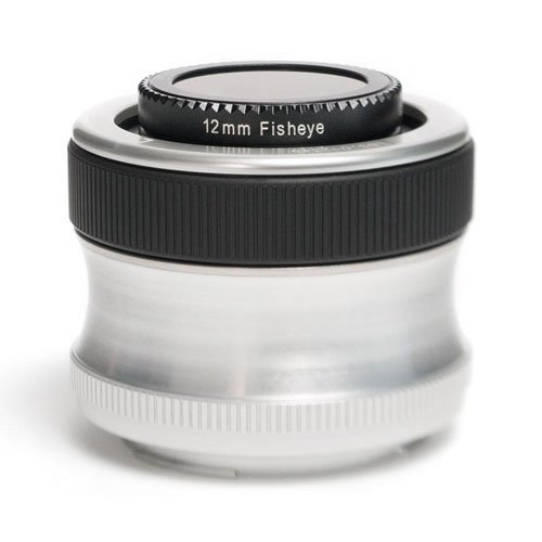 Zone Plate Pinhole - Lensbaby Scout with Fisheye Optic for Canon EF Mount Digital SLR Cameras