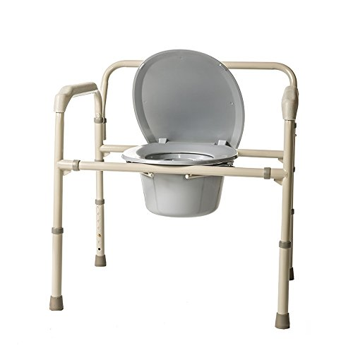 Heavy Duty Bariatric Commode by Healthline Trading