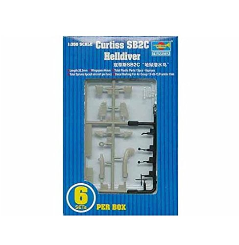 Trumpeter 1/350 SB2C Helldiver Aircraft Set for USS for sale  Delivered anywhere in USA