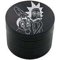 Royale Grinder Pro Design Grinder 5cm 4 Parties by édition limitée … (Rick and Morty 2)