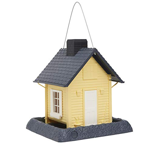 (North States 9079M Cottage Birdfeeder, Yellow)