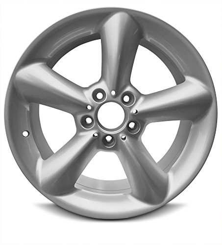 New 17 x 7.5 Inch 5 Lug (03-05) Mercedes Benz CLK Front OEM Replica Full-Size Spare Replacement Aluminum Wheel Rim 17x7.5 5x112 40mm Offset ()