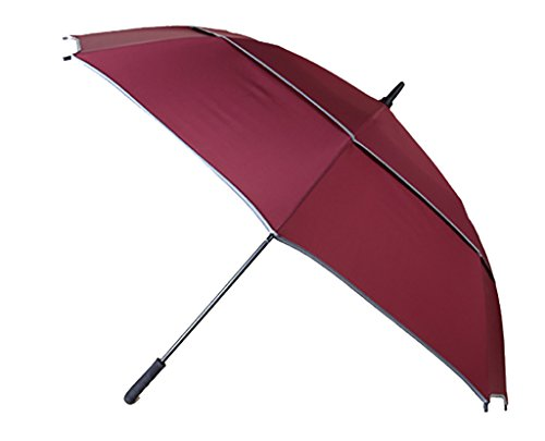 Generic Oversize Windproof Umbrella Size 55inch Color Rose by Generic