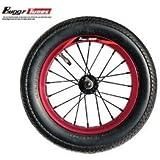 Buggycross バギークロス 専用 buggytunes カラーホイール&オンロート゛12インチスペアタイヤ レット゛